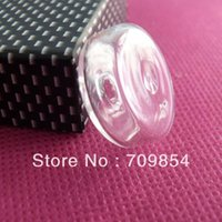 40pcs/lot 22 * 9mm globle domo burbuja botella para el encanto del anillo ancho apertura vial fornituras