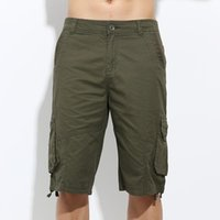 Wholesale Cargo Pants For Boys - Free Army Fashion New Casual half pants For Boys Army Style Pockets Beach Gym Summer Mens summer cargo Shorts MK-760