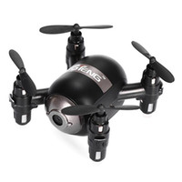 Wholesale Wholesale Drone Copter - Mini RC Quadcopter WiFi FPV 3D Display Copters 6 Axis Gyro Voice Controlled Drones Follow Me RTF Drone Controlled By Phone Drones HOT +B