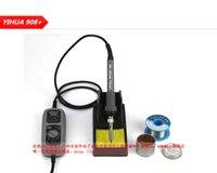 Wholesale Electric Soldering Kit - 220V YIHUA 908+ Portable Solder iron Adjustable 200-480 Celsius Electric Soldering Iron + free Solder Station Tool Kits