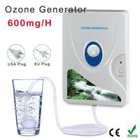 Wholesale Portable Ozone - 600mg Ozone Generator Air Purifier Ozonizer Ozonizador Ozone Ozono Portable Oxygen Concentrator Water Purifying Sterilizing
