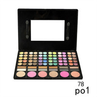 Wholesale eyeshadow makeup palette 78 - Cosmetic 78 Colors Eyeshadow Palette Earth Color Nude Smoky Shimmer Matte Eyeshadow Palette Eye Shadow Makeup Powder Palette 0605030