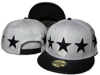 Wholesale D9 Reserve - White Black Stars D9 Reserve Snapbacks Football Hats Snapbacks Hat Man Woman fashion Street Hats Adjustable Team sport caps DD