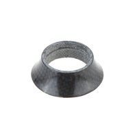Wholesale Taper Spacer - 15mm Full Carbon Fiber Bicycle Headset Bike Taper Washer Headset Spacer Stem for 28.6mm Tube Bicycle Washer