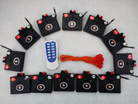 Wholesale Transmitter Fireworks - 12CH Wireless switch Transmitter Stage connect wire wedding gift Fireworks Firing system Radio fire Electric igniter 0.45mm copper wire