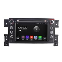 Wholesale Grand Vitara Radio - Free Shipping--Dual-Core 1.6G CPU Android 4.4 Car DVD player for Suzuki Grand Vitara+Radio GPS wifi and DVR, Support 3G OBDII
