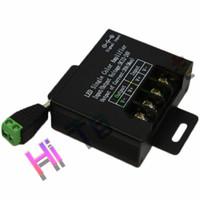 Wholesale Led Strip Common Anode - LED Amplifier 20A Single Color Amplifier DC12-24V for LED Strip Module Single COLOR Amplifier Common anode Repeater Hitolight