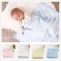 Wholesale Receiving Fleece Blankets - Soft Fleece Blanket Newborn Baby Boy Girl Bedding Sets Receiving Blanket Swaddling Blanket