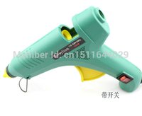 220V 100W Big Size riscaldamento elettrico Hot Melt Glue Gun con scambiare strumento Repair Professional + 5pcs Stick di colla ordine $ 18no pista