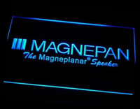 Wholesale Theater Lighting Night Lights - ht-05 Magnepan Home Theater Speakers LED Neon Light Sign Wholesale Dropshipping