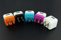 carregadores de celular apple 4s venda por atacado-Universal ue / eua 5 v carregador de telefone móvel usb carregador rápido carregador de parede adaptador para iphone 4s iphone 5s 6 ipod