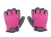 Wholesale Lifting Weights Women - Wholesale-Women Gym Body Building Training Fitness Gloves Sports Weight Lifting Exercise Slip-Resistant Gloves