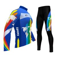 Wholesale Bicycling Sleeves Design - New special design long sleeve cycling kit for kids winter fleece bicycle clothing good quality,free shipping