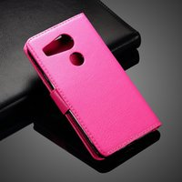 Wholesale Tpu Nexus Wholesale - For Huawei Nexus 6P LG 5X Litchi Wallet Leather TPU Case Cover With Credit Card Slot Flip Stand for LG Nexus 5X