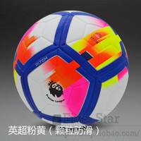 Wholesale Fa Shipping - Free Shipping NEW 2017-2018 Fa premier league La liga Football Seamless slip Size 5 Soccer ball Student Soccer ball