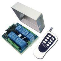 Wholesale 12v Dc Remote Control Switch - 8 Channels 315 433MHz DC 9V 12V 24V Wireless Remote Switch Transmitter & Receiver 8 Control Modes
