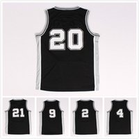 Wholesale Fast Clothes - Away playoff clothes # 2 # 4 # 9 # 20 # 21 Jersey New Material Rev 30basketball jerseys, Stitched Embroidery logos Free fast Shipping