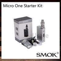 Wholesale Evic Starter - Smok Micro One Starter Kit With 80W 4400mah R80 TC Box Mod Micro TFV4 Tank 100% Original VS Kanger Nebox Subvod Starter Kit eVic Mini