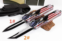Wholesale Fox Model - HIght Recommend Mi D3 Eagle (two models) optional Hunting Folding Pocket Knife Survival Knife Xmas gift fox copies 1pcs freeshipping