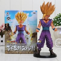 Wholesale Dragon Ball Action Toy - Dragon Ball Z Super Saiyan 2 MSP Son Gohan Action Figure Toy Brand New Model Children Gift