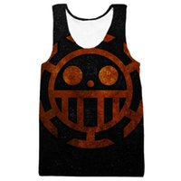 LiZhiYang Tank Tops Мужчины или женщины Summer 3d Print Trafalgar Law Symbol Hot Sale Tee Sleeveless Vest hot fashion Style Shirt бесплатная покупка