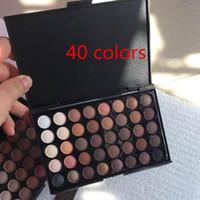 Wholesale 28 color eyeshadow palette wholesale - 28 40 Color Eyeshadow Palette 28 color 40 color Earth Colors Shimmer Glitter Earth Eye Shadow Power Set Cosmetic Makeup