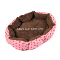 Wholesale Soft Pet Dog Nest Puppy - Promotion Pet Products Soft Material Dog Mat Pet House Cats Warming Puppy Sleeping Nest 5 Colors Pets Bed Kennels