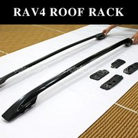 Wholesale Roof Rail - Toyota RAV4 luggage rack roof rack roof rail,for 2013 2014 ,superior aluminum alloy,black and silver color you can choose.