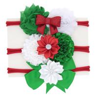 büyük yılbaşı toptan satış-Çocuk Noel Yay Elastik Saç Bandı bebek büyük bant Noel Kafa SD048 008 #