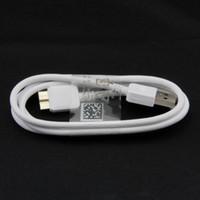 ingrosso cavo di nota3-Cavo Micro USB 3.0 per Galaxy Note3 S5 Sincronizzazione dati di ricarica 1M-3FT di alta qualità 100 pz / su