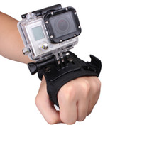 Wholesale Style Camera Strap - Andoer Glove-style Wrist Band Mount Strap Accessory for GoPro Hero 4 3+ 3 2 1 Camera Big order<$18no track