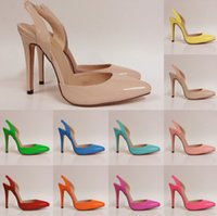 Wholesale Stiletto Heel Size 13 - Zapatos Mujer Summer New Women Sexy Fashion Shoes Higher Heel Sandals 13 color Jelly Series Size Us 4-11 D0001