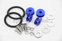 Wholesale Quick Release Aluminum Fasteners Car Washer Blue For Front Bumpers Rear Bumpers Trunk Hatch Lids