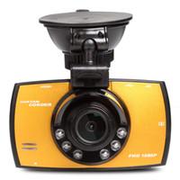 Wholesale car dvr best - Best Quality !!! Original G30 HD 2.7 inch LCD Car Camera Car DVR Novatek 96220 Vehicle Traveling Date Recorder Night Vision Tachograph DHL