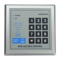 Wholesale Door Lock Entry Access Control - High Security Electronic RFID Proximity Entry Door Lock Access Control System+10 RFID Keyfobs Top Quality Free Shipping 800860