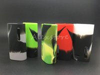 eleaf basic großhandel-5 stücke istick grundlegende silikon case silikon fällen gummi hülle schutzhülle haut für eleaf ismoka istick grundlegende vape 2300 mah batterie box mod