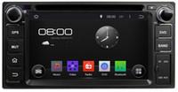 Wholesale Land Cruiser Gps Radio - Pure Android 4.4 6.2 inch Capacitive Touch screen Car DVD Playe For TOYOTA RAV4 Corolla Vios Hilux Terios Land Cruiser Avanza Fortuner Prado