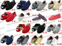 Wholesale Loafers - HOT Size 35-45 Wholesale Brand Fashion Women Solid sequins Flats Shoes Sneakers Women and Men Canvas Shoes loafers casual shoes Espadrilles