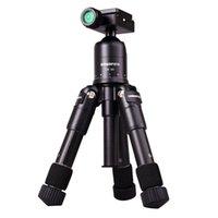 Others Aluminum Alloy M225+CK30 Wholesale-Portable Folding Ultra Aluminum alloy Tripod Compact Desktop Macro Mini Tripod Kit with Ball Head for Canon Nikon DSLR Camera