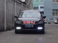 nebelscheinwerfer drk volkswagen großhandel-LED Tagfahrlicht DRL mit Nebelscheinwerferabdeckung, LED Nebelscheinwerfer Tasche für Volkswagen Sagitar Jetta 6 2011 ~ ON, ohne Nebel Ausgabe