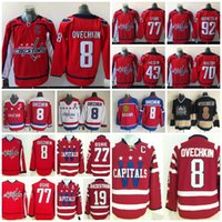 Wholesale Tom Purple - 2018 AD Washington Capitals 77 TJ Oshie 8 Alex Ovechkin 92 Evgeny Kuznetsov 19 Nicklas Backstrom 70 Braden Holtby Tom Wilson Hockey Jerseys