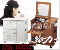 Wholesale Japanese manufacturers supply cabinet wood dresser dresser dressing original single dresser