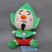 """Wholesale Tingling Toy - Free Shipping New Legend of Zelda Wind Waker TINGLE Stuffed Plush Doll Soft Toy 7"""" For Gift"""