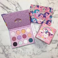 Wholesale Face Popping - Latest Brand Makeup Palette Colour Pop My Little Pony Beauty Fantasy Eyeshadow Face Cosmetics For Young Girls 12 Colors Palette 1pc