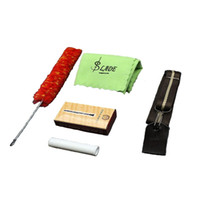 Wholesale Clarinet Cork Grease - Wholesale- Universal 5-in-1 Clarinet Accessories Kit for saxophone Adjustable Neck Strap Bamboo Reed Clean Brush Cork Grease