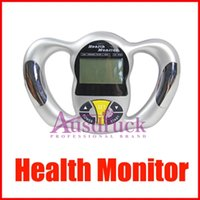 Wholesale Lcd Monitor Tester - Mini Digital LCD BMI Tester Body Fat Monitor Health Analyzer Fat Meter NEW ARRIVAL