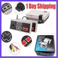 Compra Video Tv-1Days ship Mini TV Videogiochi portatili Console di gioco Sistemi di gioco integrati 500/600/620 per giochi Nes PAL NTSC OTH002