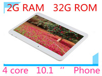 """Wholesale Chinese 32g Tablet Pc - l 2G+32G MTK6582 phablet 3G Phone Call tablet pc android 4.4 4 Core 1.6Ghz bluetooth Wifi Dual Camera sim 10"""" tablets"""