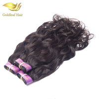 Wholesale Indian Remy Weave Shedding - Top quality wholesale price 1pc natural color natural wave Brazialian Indian Peruvian Mongolian Malaysian human hair weaves no shedding