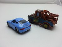 Wholesale Sally Metal - Wholesale-Pixar Cars Mater & Sally Metal Toy Car 1:55 Loose Brand New In Stock & Free Shipping